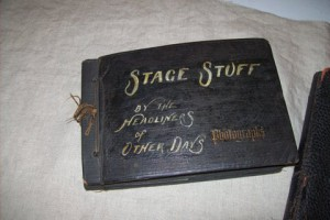 """Stage Stuff"" scrapbook by the cast from Ann Arbor."