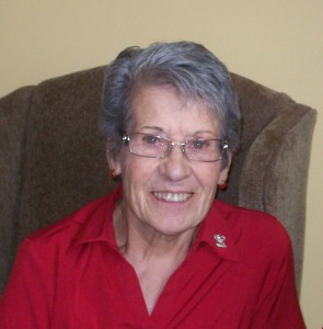 Author Eileen Reamer, in a 2012 photograph. Image courtesy of Pete and Connie Newell.