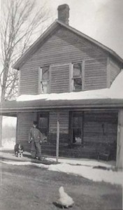 Peter Brautigam, at his home on Sparling Road in Kingsley, undated. Image courtesy of the author.