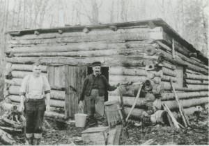 A classic tilt building, Pokey Huddle, ca. 1900.