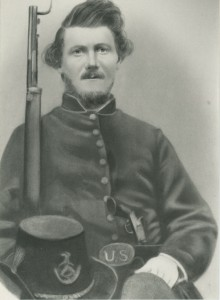 James Gray Brady of Kalkaska, ca. 1863.