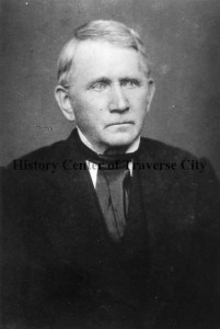 Portrait of Rev. Peter Dougherty. Image courtesy of the History Center of Traverse City.