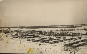 Kingsley valley, from the south, ca. 1910. Image courtesy of Sally Norman Photograph Collection, Kingsley Branch Library.