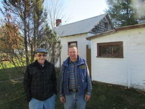 Arthur (right) and Alan Hulkonen, of Kaleva, Michigan.