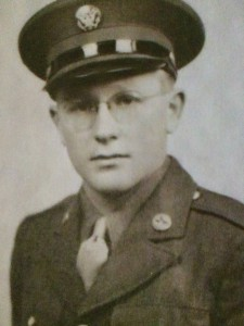 Arthur Hulkonen seved in the United States Army during World War II. Image provided by Karen Hilliard.