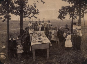 Blackman School Picnic, 1903.