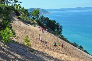 Sleeping Bear Dunes, August 2011. Image courtesy of Rodney Campbell, https://flic.kr/p/aa2nva