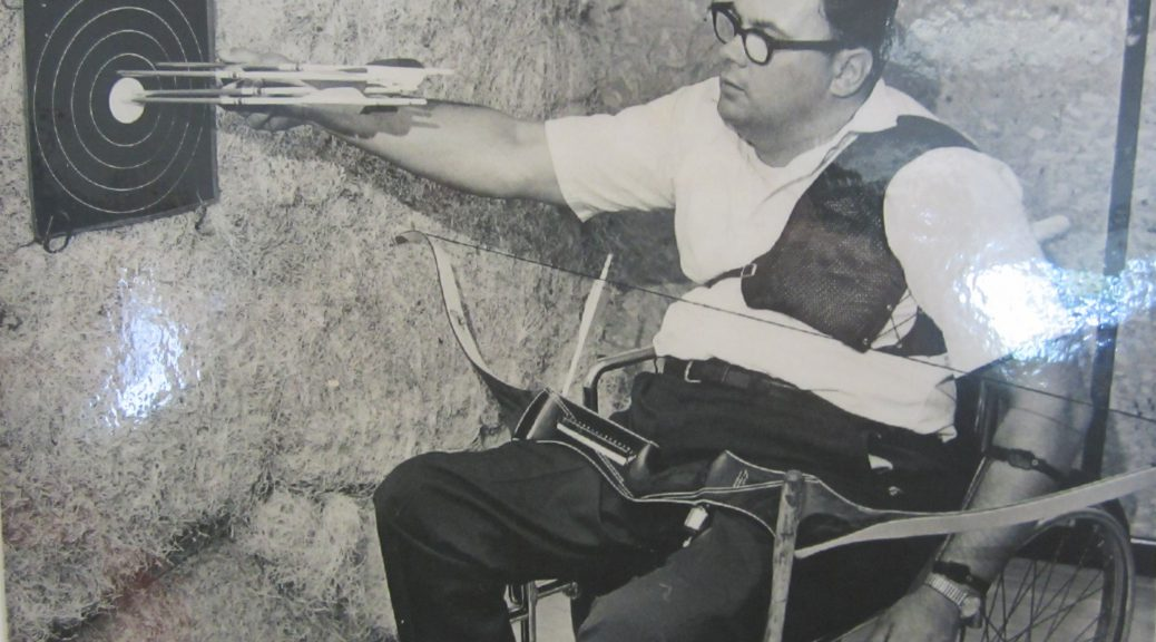 Tommy Kelderhouse was a Paralympic athlete from Traverse City. Archery was just one sport he medaled in.