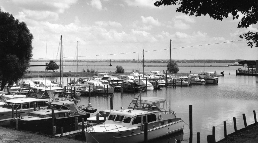 West Bay harbor. Perhaps a reader with a better eye for boats can help us date this photograph? Send responses to gtjeditor@tadl.org