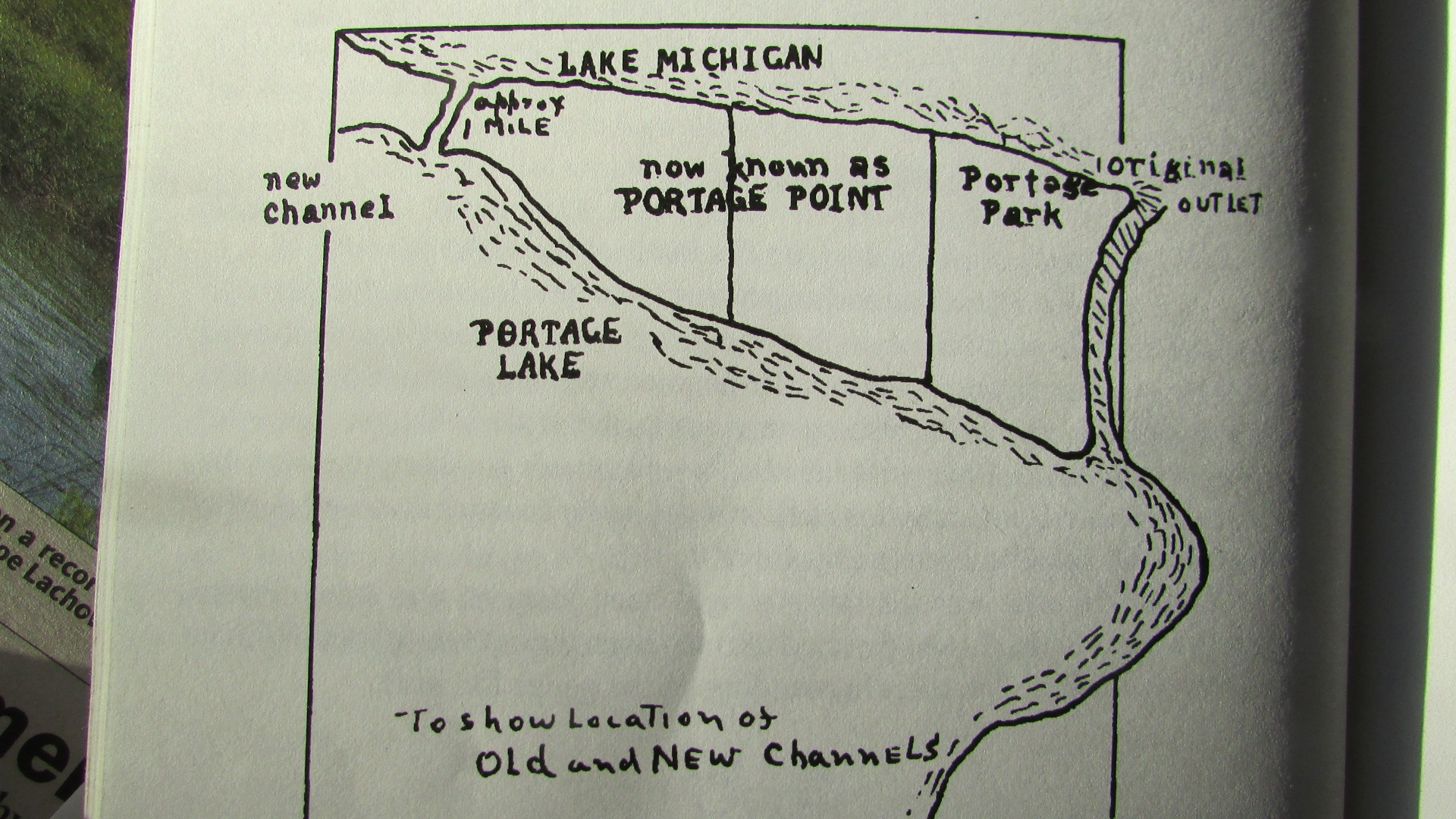 Portage Lake Michigan Map.Portage Lake A Hotbed For Land Use Controversy 1866 2016 Grand