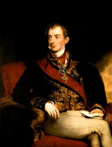 Painting of Count Metternich by Thomas Lawrence, now part of the Kunsthistorisches Museum Collection. The original work was first exhibited in 1815, but probably revised in 1818/9. Image courtesy of the Museum, and available at the Wikimedia Commons.