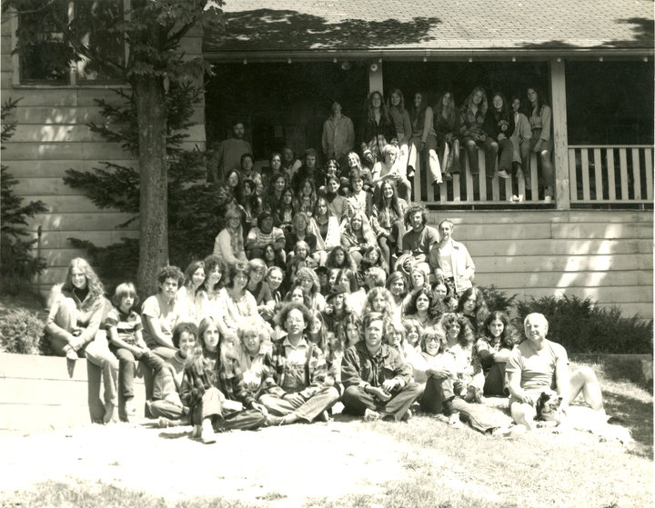 3fa57cd0329 Campers at Innisfree. Photograph provided by the author.